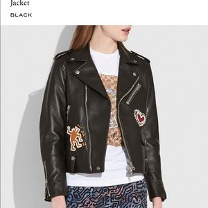 COACH x Kieth Haring Moto Jacket